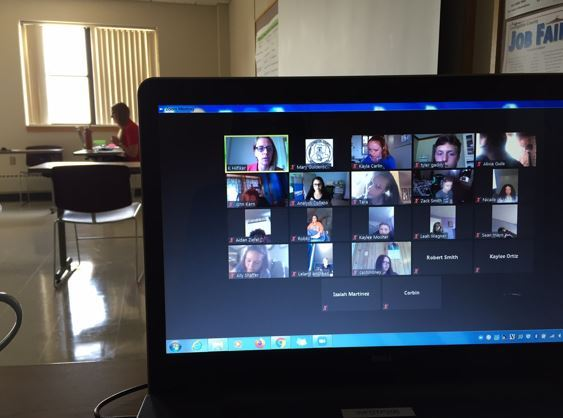 Work readiness training and employee orientation completed remotely