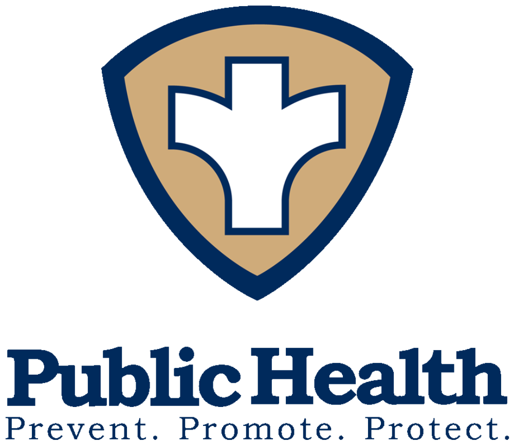 Public Health logo.  Prevent. Promote. Protect.