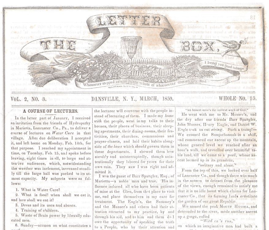 Image of The Letter Box newspaper